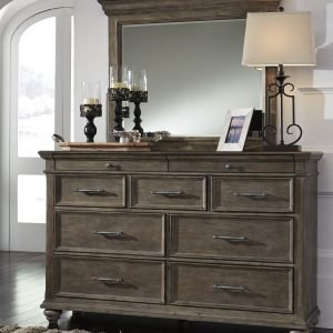 Johnelle Dresser + Bedroom Mirror